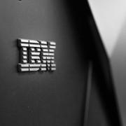 Photo of the IBM logo