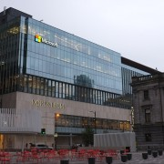 Exterior of Microsoft building in Vancouver