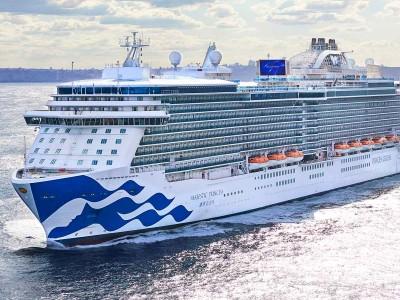 Princess Cruises' Majestic Princess ship