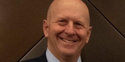 Goldman Sachs CEO David Solomon at the companys New York headquarters- Remote Report