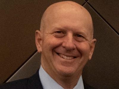 Goldman Sachs CEO David Solomon at the company's New York headquarters