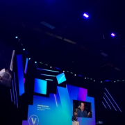 Facebook CEO Mark Zuckerberg speaks at the VivaTech conference- Remote Report