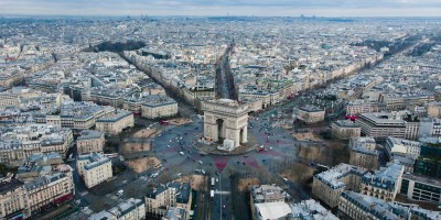 Paris France from the air- Remote Report