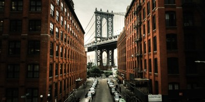 DUMBO, Brooklyn Bridge, Brooklyn, New York