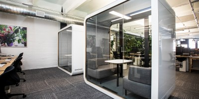 Office design with pods– Remote Report