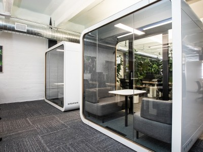 Office design with pods
