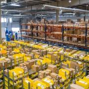 Amazon warehouse in Bucharest, Romania
