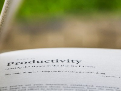 Productivity definition in book