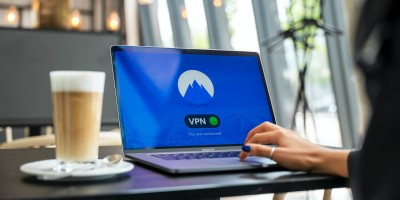VPN connection on laptop