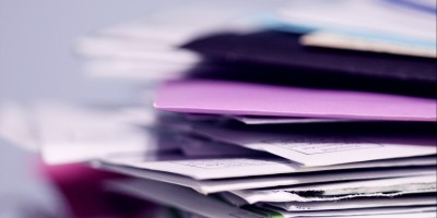 Stack of folders– Remote Report